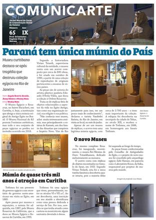 Museu em Curitiba é o único do Brasil com uma múmia original