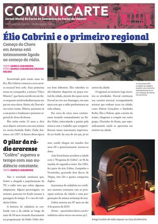 Primeiro regional de choro faz parte de história de rádio em Araras
