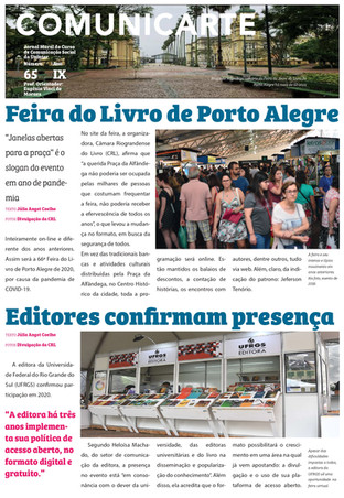 Tradicional feira do livro de Porto Alegre aconteceu em formato virtual