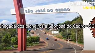 Documentário aborda a chegada de pioneiros em cidade catarinense