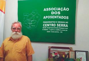 Em Sobradinho, entidade presta assistência a aposentados e pensionistas