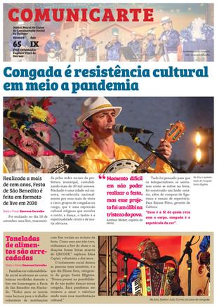 Congada e ação social online agitam interior de Minas Gerais