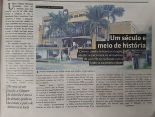 Câmara de Vereadores de Joinville: um espaço de história e debates políticos
