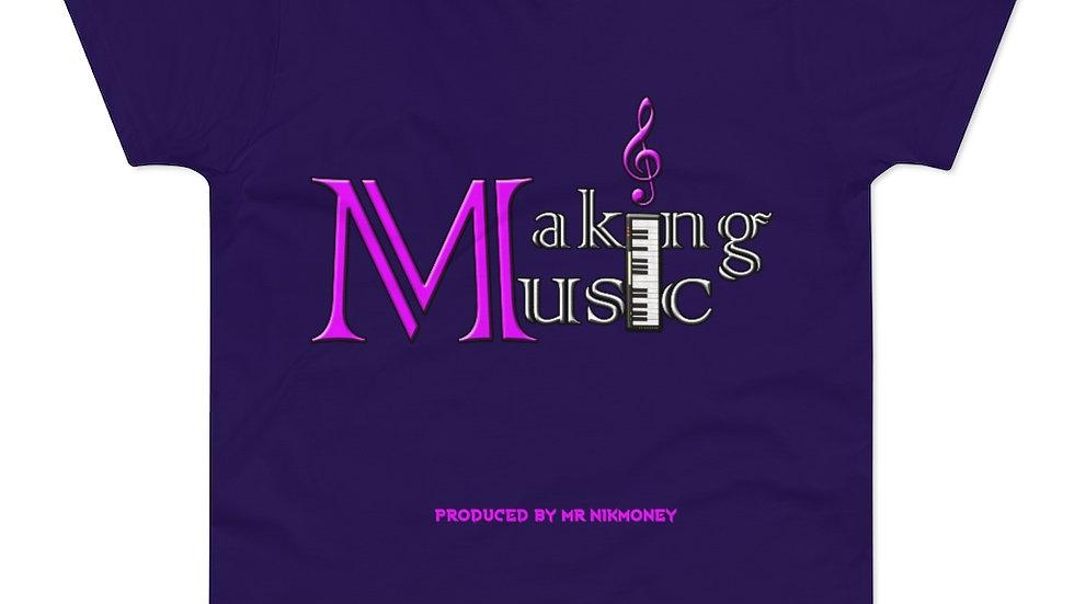 Making Music (Prod. By @mrnikmoney) Single Jersey Men's T-shirt