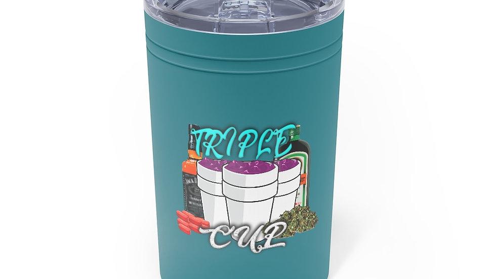 Triple Cup Vacuum Tumbler & Insulator, 11oz.