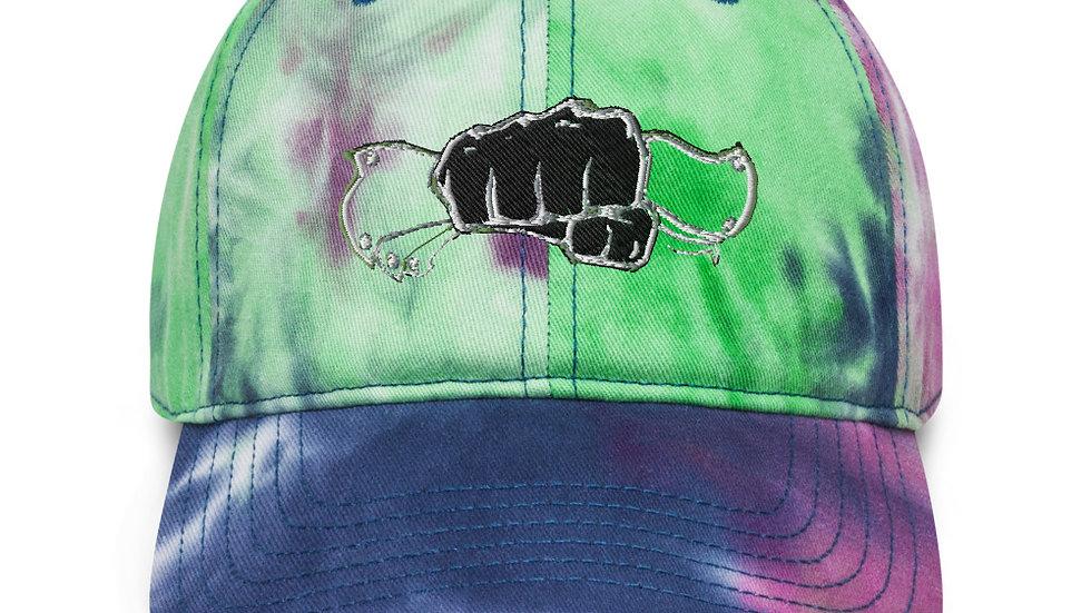 $CASH$ x SLCG Tie dye hat