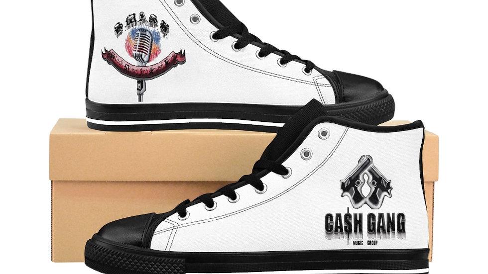 SLCG Men's High-top Sneakers (Book Custom Color)