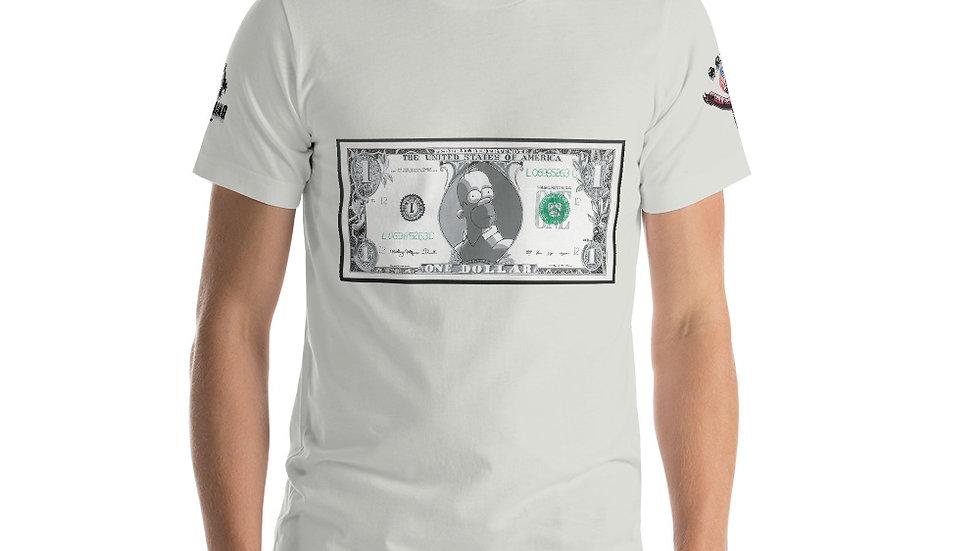 Homer Dollar Bill x SLCG Short-Sleeve Unisex T-Shirt