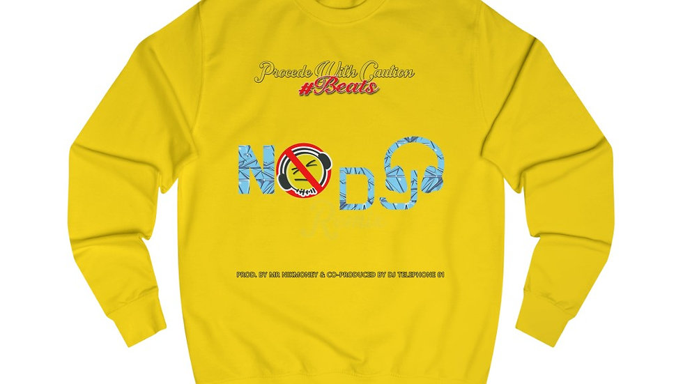 No DJ (Remix) (Prod. By Mr.Nikmoney & DJ Telephone 01) Men's Sweatshirt