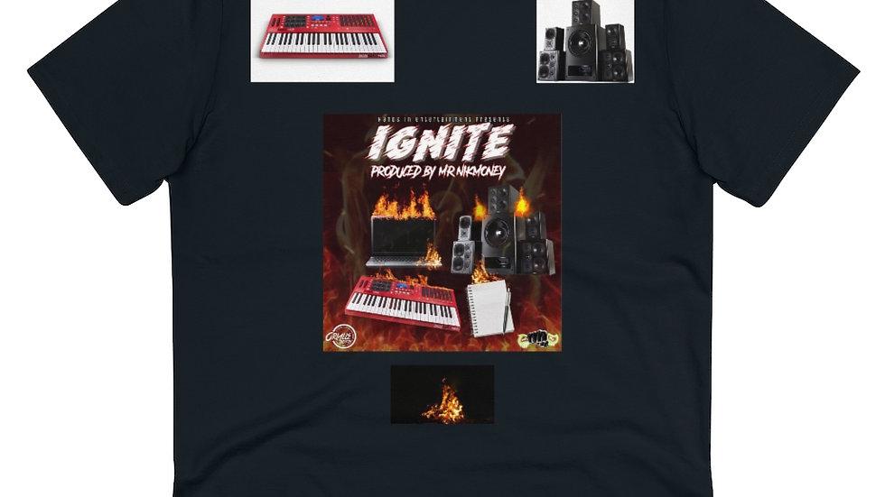 Mr.Nikmoney - Ignite x Hands In Organic Creator T-shirt - Unisex