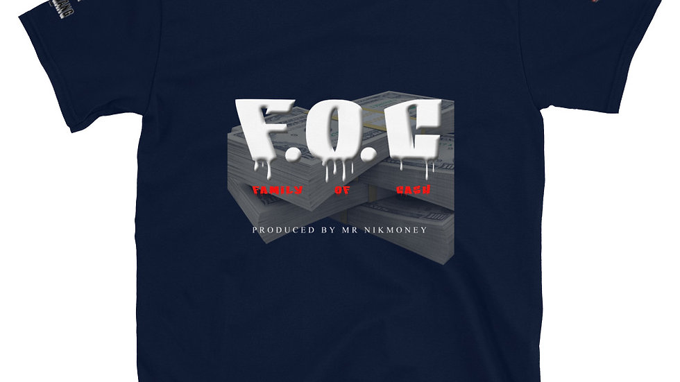 F.O.C (Prod. By Mr.Nikmoney) Short-Sleeve Unisex T-Shirt