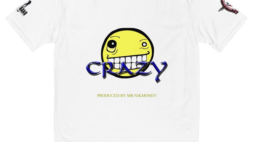 Crazy (Prod. By Mr.Nikmoney) x $CASH$ Short Sleeve T-shirt