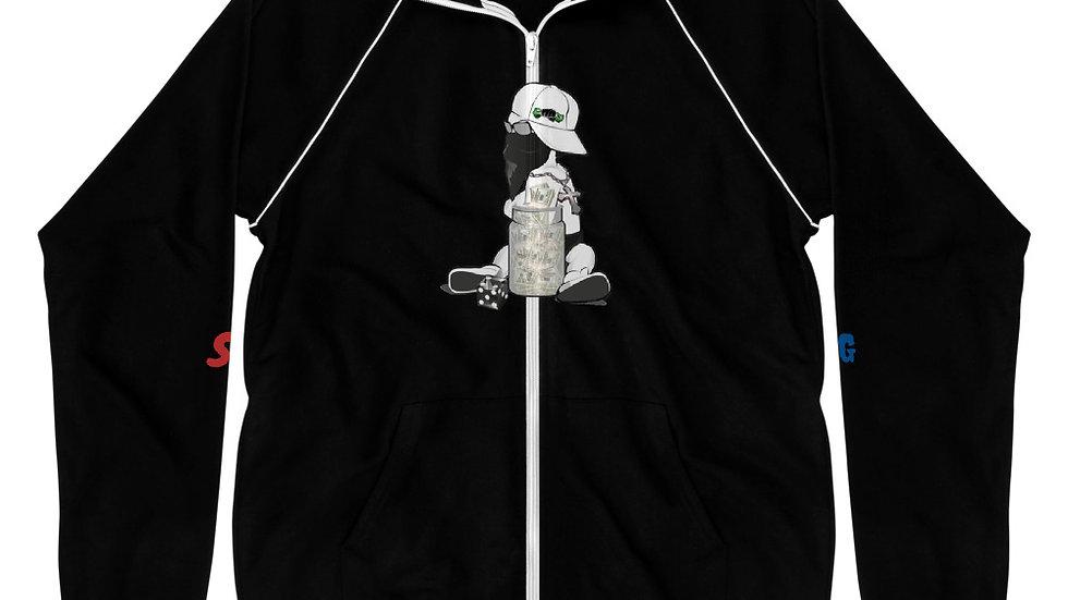 Baby Cash x $CASH$ Piped Fleece Jacket