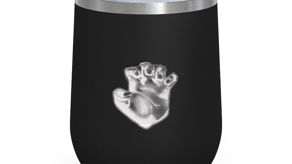 Hands In 12oz Insulated Wine Tumbler