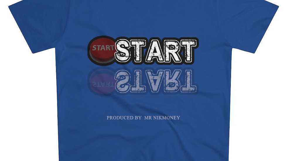 Start (Prod. By Mr.Nikmoney) Men's Modern-fit Tee