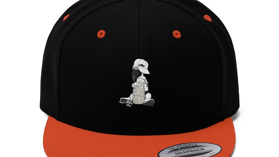 Baby Cash Unisex Flat Bill Hat