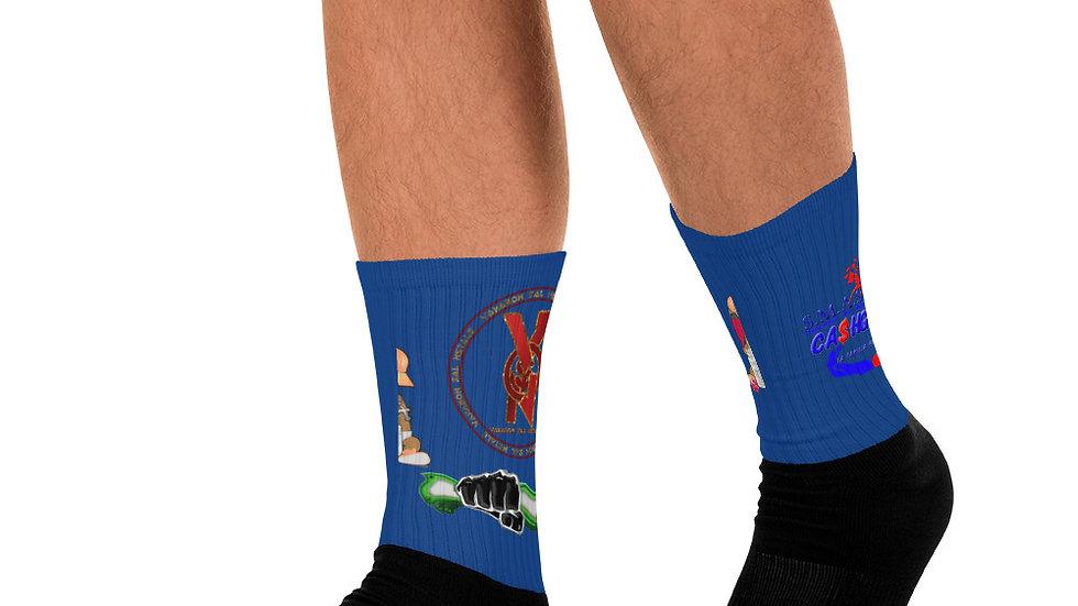 SLCG X V.S.N Sock