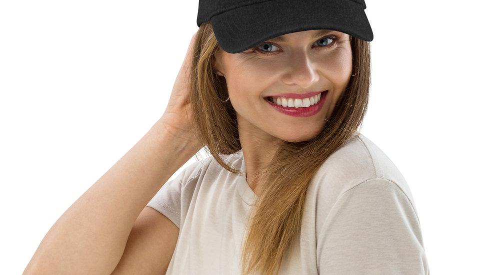 Hands In Denim Hat