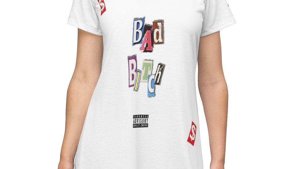 Bad Bitch T-Shirt Dress