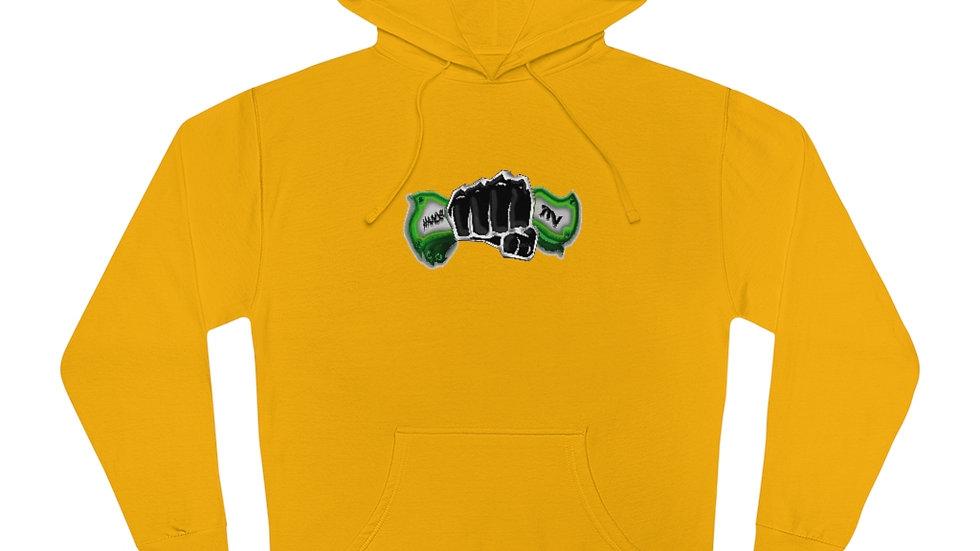 Hands In x SLCG187 Unisex Hooded Sweatshirt
