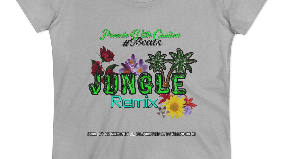Jungle (Remix) (Prod. By Mr.Nikmoney & DJ Telephone 01) Organic Lover T-shirt
