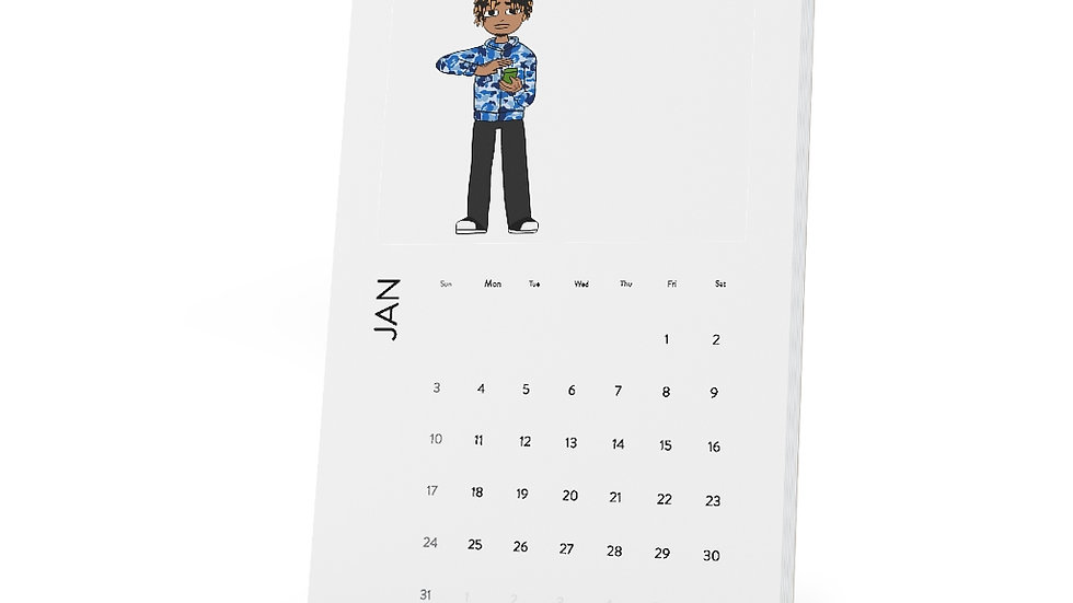 Mr.Nikmoney Vertical Desk Calendar
