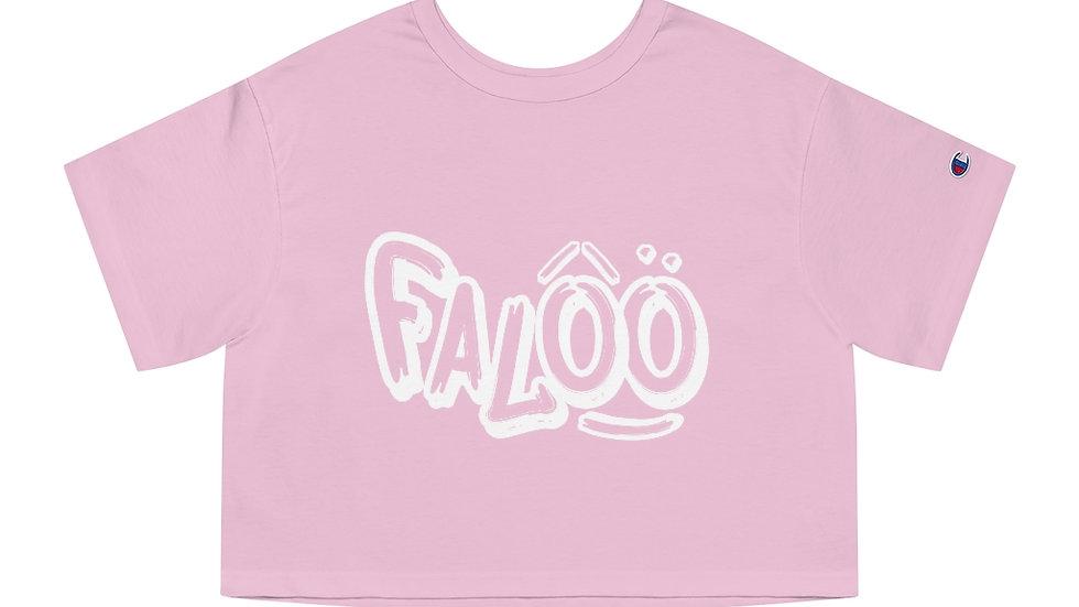 Falöô x SLCG 187 Champion Women's Heritage Cropped T-Shirt