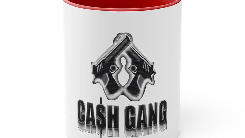 Cash Gang 11oz Accent Mug