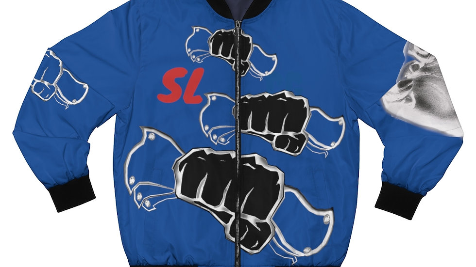 Smash Life Cash Gang Hands In Men's Bomber Jacket
