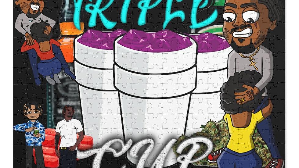Mr.Nikmoney's Triple Cup 252 Piece Puzzle