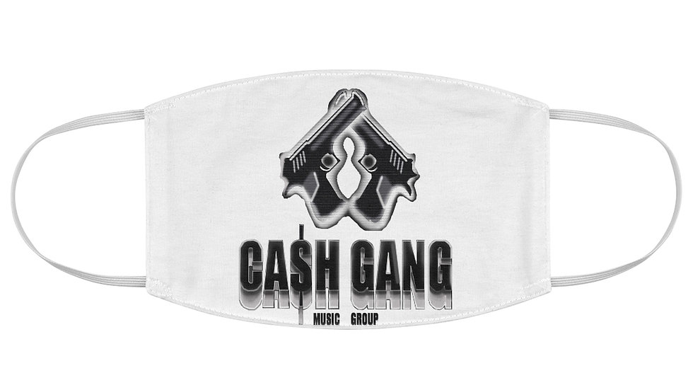Cash Gang Music Group Face Mask