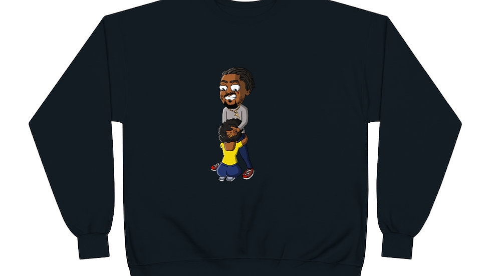Mr.Nikmoney Ugly Head Unisex EcoSmart® Crewneck Sweatshirt