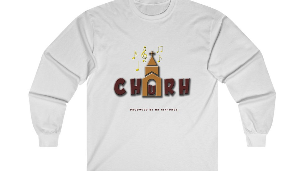 Church (Prod. By @mrnikmoney) Ultra Cotton Long Sleeve Tee