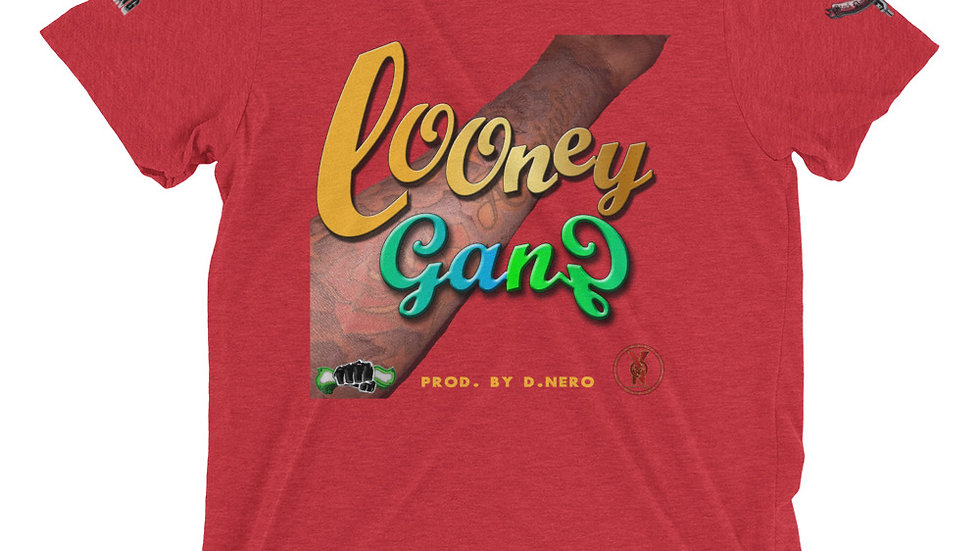 Looney Gang (Prod. By D.Nero) Short sleeve t-shirt