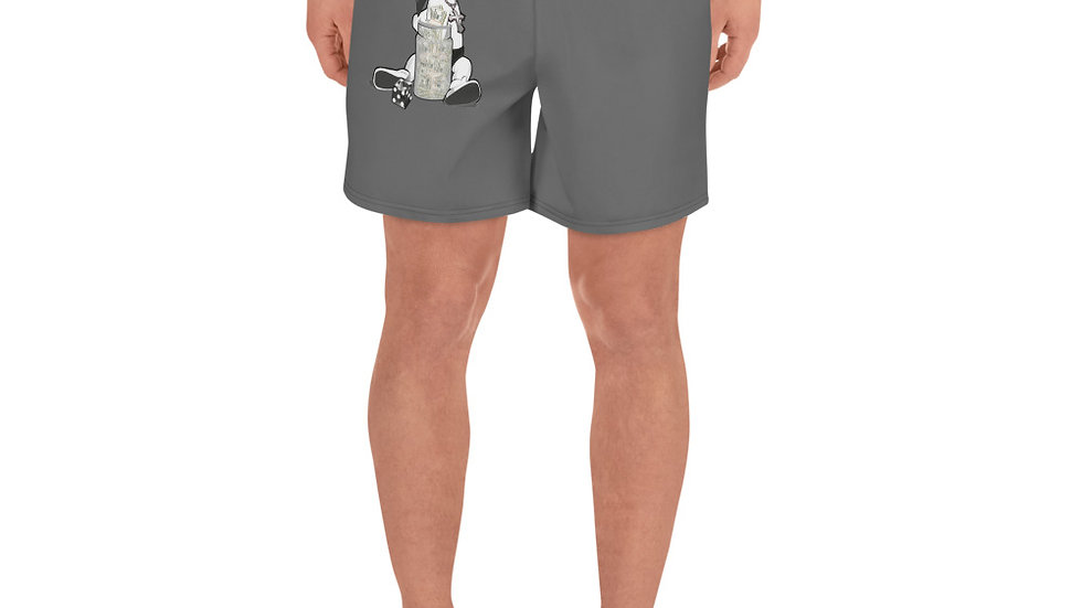 SLCG Family Hands In Men's Athletic Long Shorts