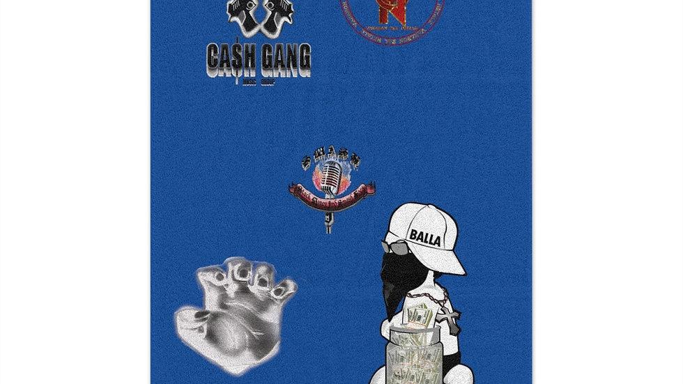 SLCG x V.S.N x Baby Cash Rally Towel, 11x18