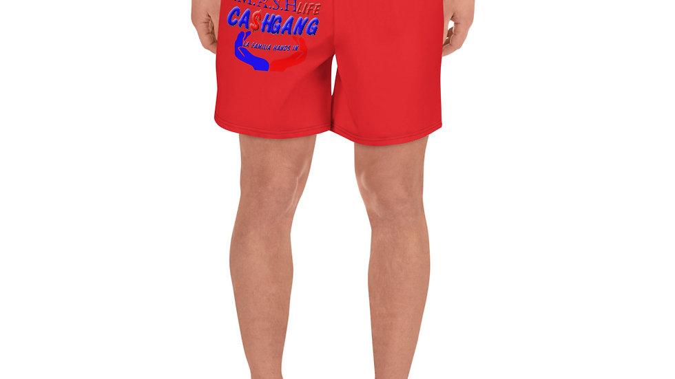 SLCG Family Hands In Men's Athletic Long Shorts (Book Custom Color)