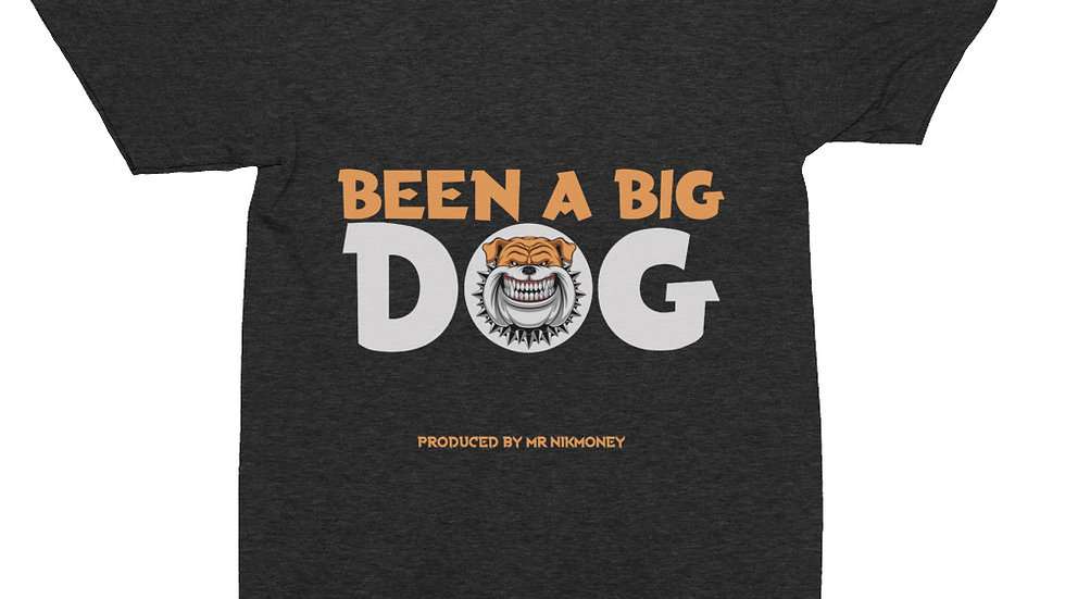 Been A Big Dog  (Prod. By @mrnikmoney) Unisex Tri-Blend Track Shirt