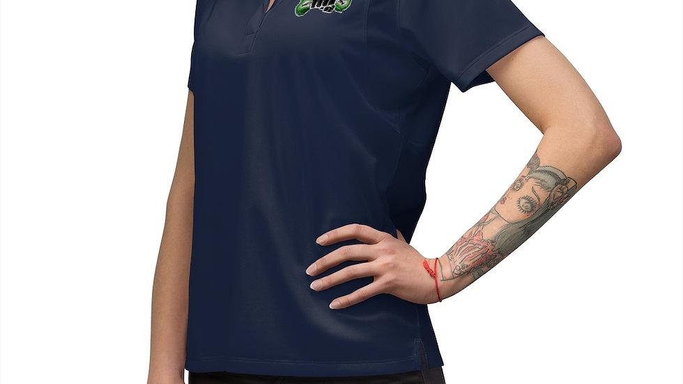 Hands In Women's Polo Shirt