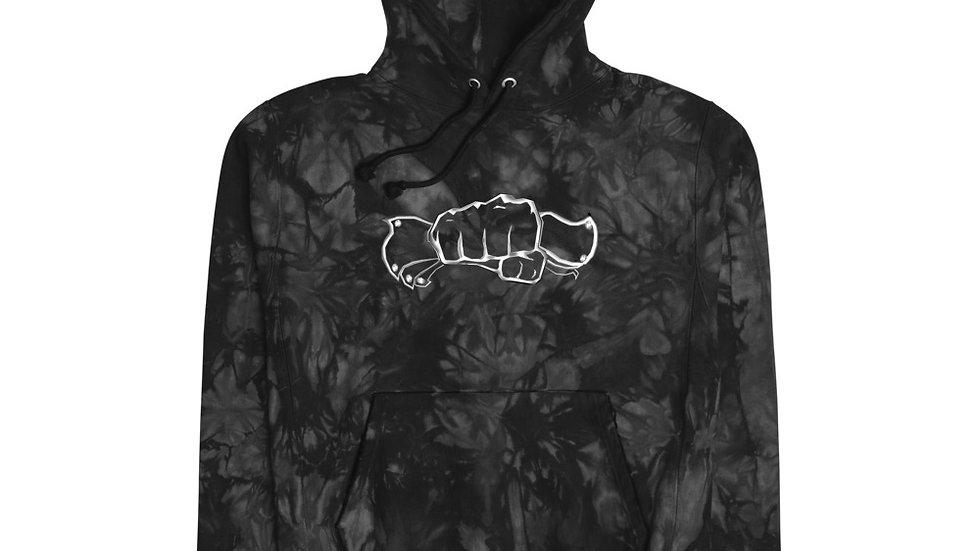 $CASH$ x Hands In Unisex Champion tie-dye hoodie