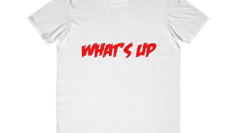 What's Up (Prod. By Mr.Nikmoney)  x Baby Cash Men's Lightweight Fashion Tee
