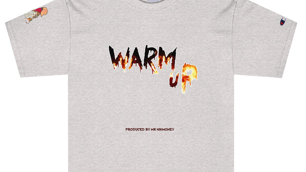 Warm Up (Prod. By @mrnikmoney) Men's Champion T-Shirt