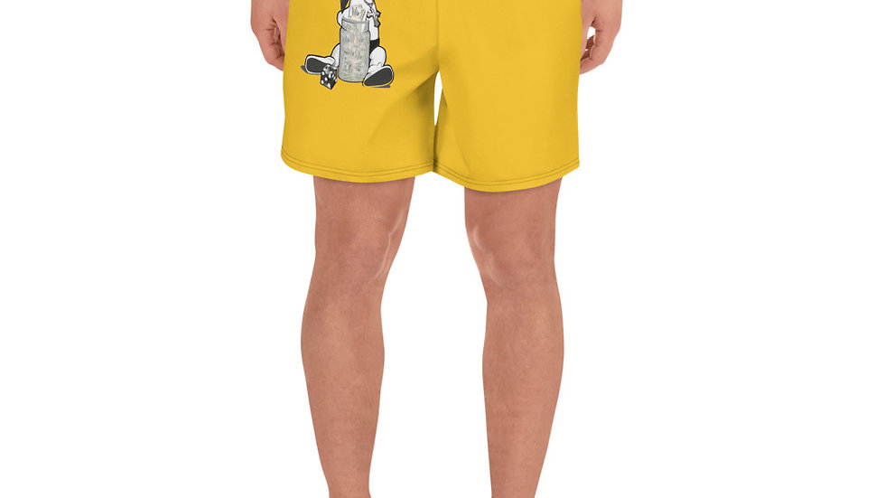 SLCG Family Hands In Men's Athletic Long Shorts (Book Custom Color)
