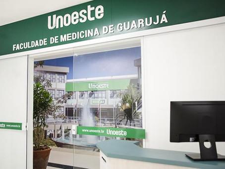 UNOESTE GUARUJÁ RECEBE MATRÍCULAS DE APROVADOS EM MEDICINA