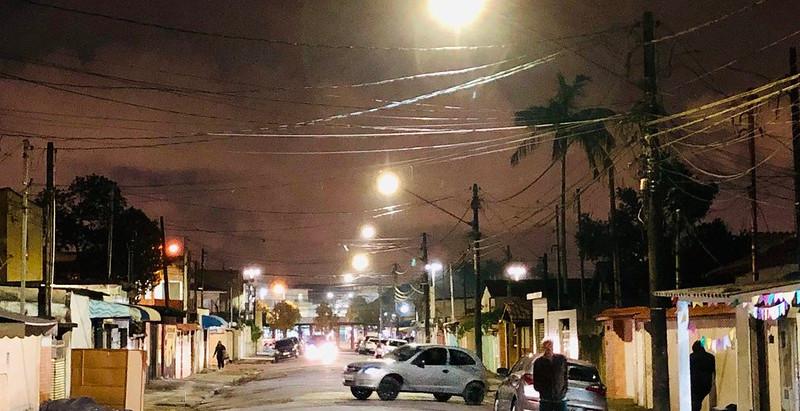 ILUMINAÇÃO PÚBLICA CHEGA A 8 MIL PONTOS DE LUMINÁRIAS DE LEAD