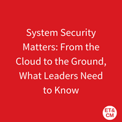 33._System Security Matters_ From the Cl