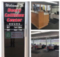 collision center office