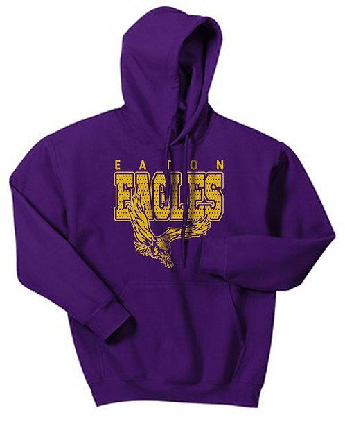 Eaton Eagles Hooded Pullover Sweatshirt