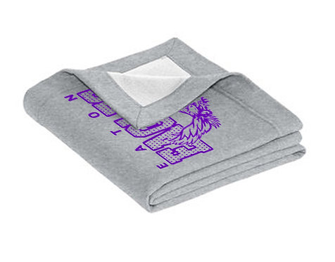 Eaton Eagles Sweatshirt Blanket