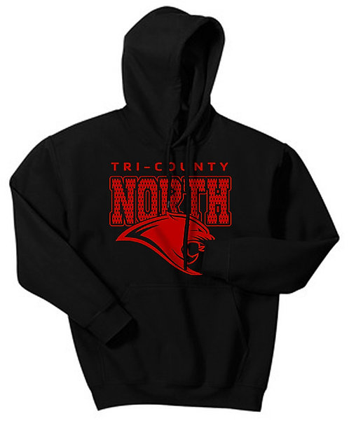 Tri-County North Hooded Pullover Sweatshirt
